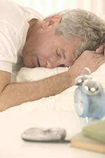 Man Sleeping In